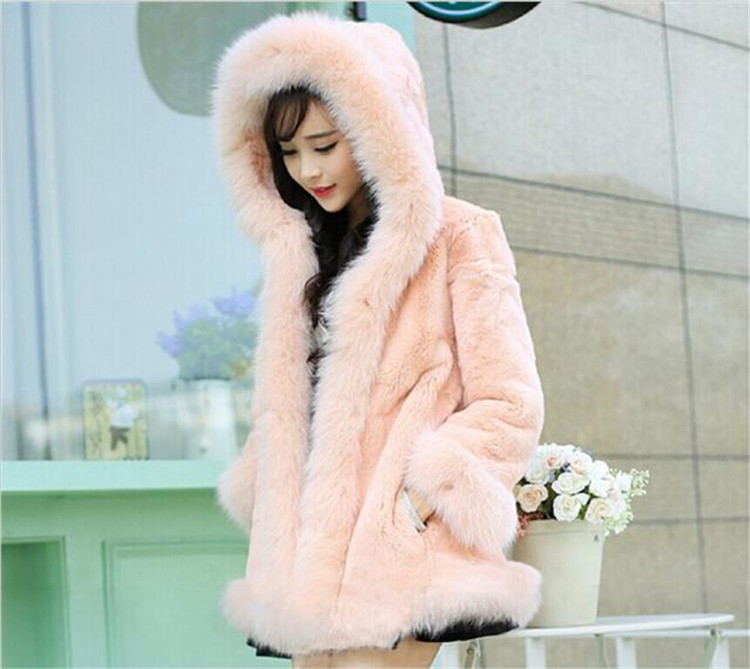 New Women Vest Fake Fur Tops Imitation Fox Fur Coats Horizontal Shape Slim Heated Vest Winter Women's Coats Luxurious Outerwear