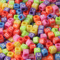 cube 6mm candy color