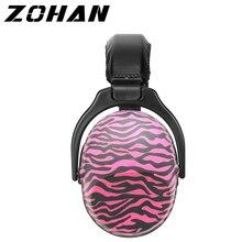 Zohan earmuffs passivos nr26db protetores de ouvido para ruído tático caça earmuff anti ruído proteção de orelha para criança