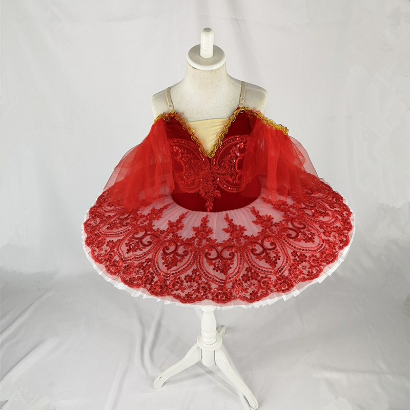 Image 3 - white red professional ballet tutu child kids girls ballet tutu adulto women ballerina party ballet mujer dance costumes-in Ballet from Novelty & Special Use