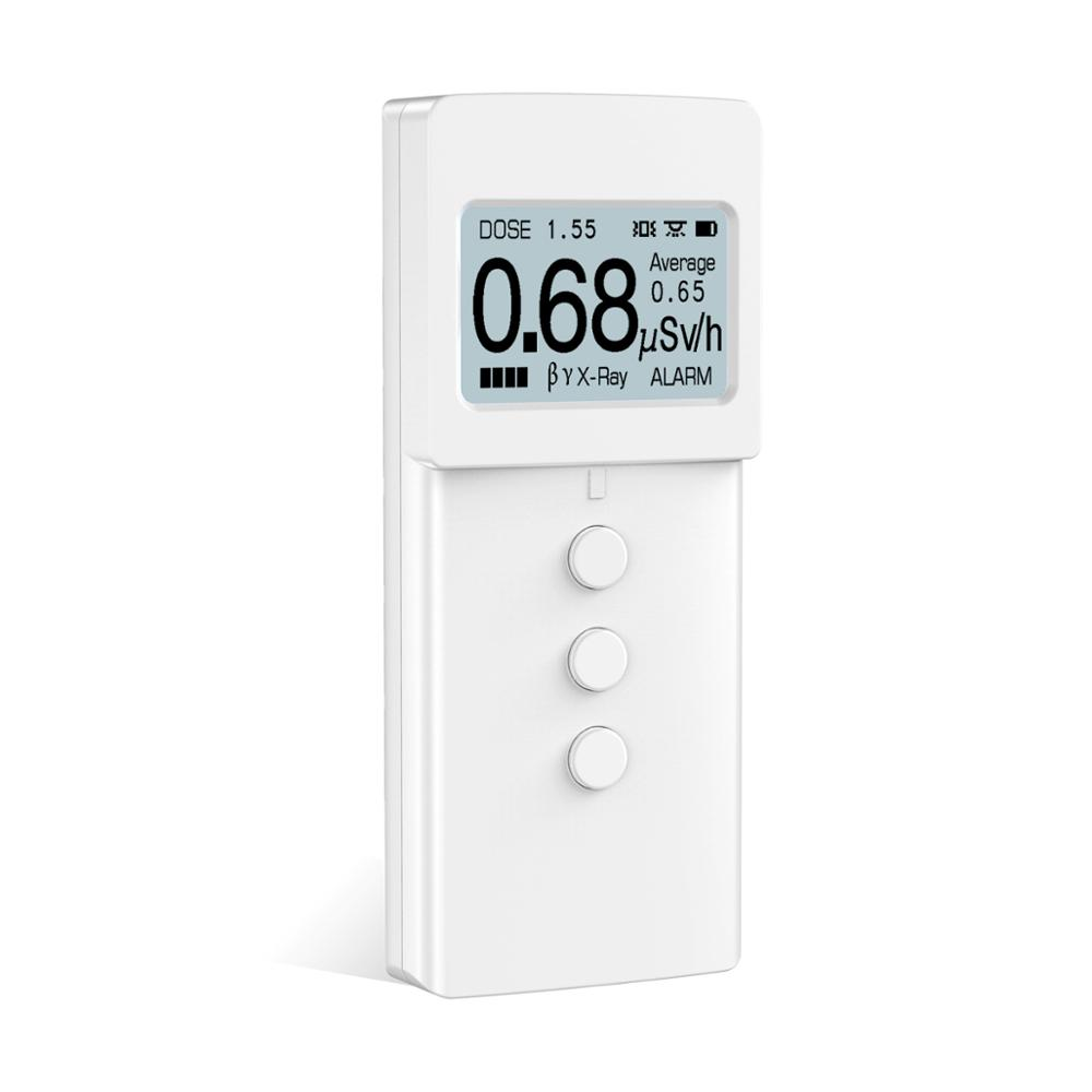KB6011 contador geiger nuclear detector de radiación Personal detector de dosímetros inteligente compteur geiger muller de radiat dosimet