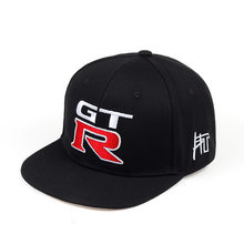 2019 neue mode Nissan GTR stickerei racing hut outdoor sport lokomotive baseball kappen GTR wohnung hip hop kappe casual hüte(China)