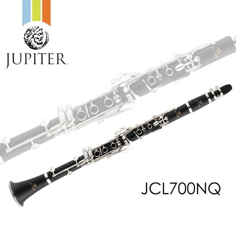 Новинка JUPITER JCL 700NQ b плоская Мелодия профессиональные высококачественные деревянные духовые инструменты кларнет черная трубка с Чехол аксессуары