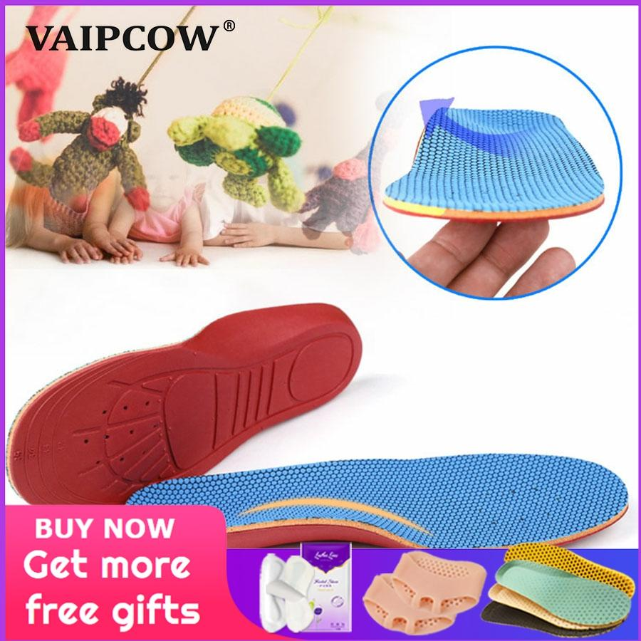 3D Orthotic Insoles flat feet for kids and Children Arch Support insole for X-Legs child orthopedic shoes Foot Care