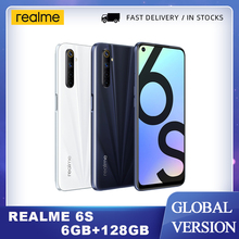 Realme 6s smartphone 6GB 128GB 90Hz 6.5 pollici FHD Display 48MP Qual telecamere Android 10 4300mAh 30W changer telefono cellulare