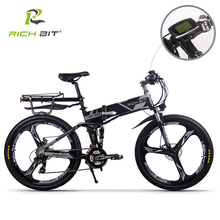 Electric-Bicycle Battery-Fold Cycling Richbit European Quick-Deliveryframe 36v--250w