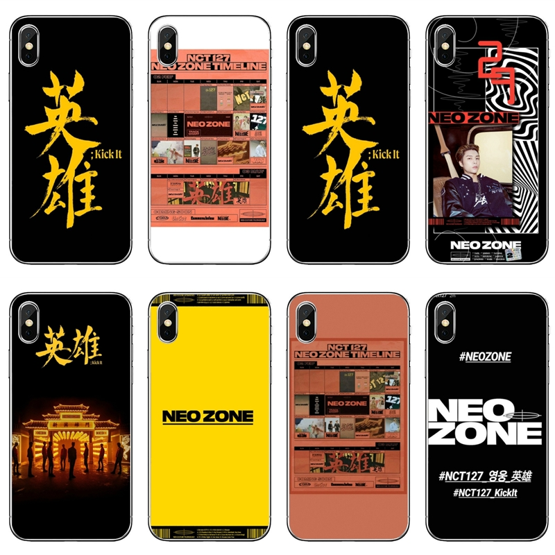 NCT 127 Neo Zone Kick It Phone Case For Sony Xperia Z5 C6 L2 XA1 XA2 XZ1 XZ2 Compact Premium LG G5 G6 G7 Q6 Q7 Q8 Q9 V30 V20 V10