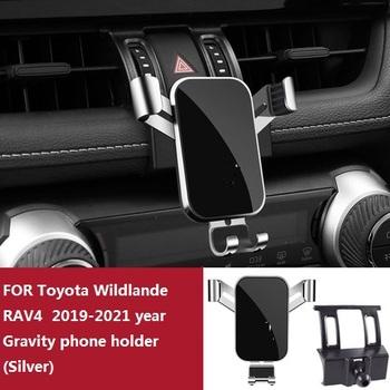 Uchwyt samochodowy do telefonu Toyota Wildlander VAV4 2013-2021 rok Gravity uchwyt na GPS dedykowany wylot wentylacyjny uchwyt do nawigacji tanie i dobre opinie CN (pochodzenie)