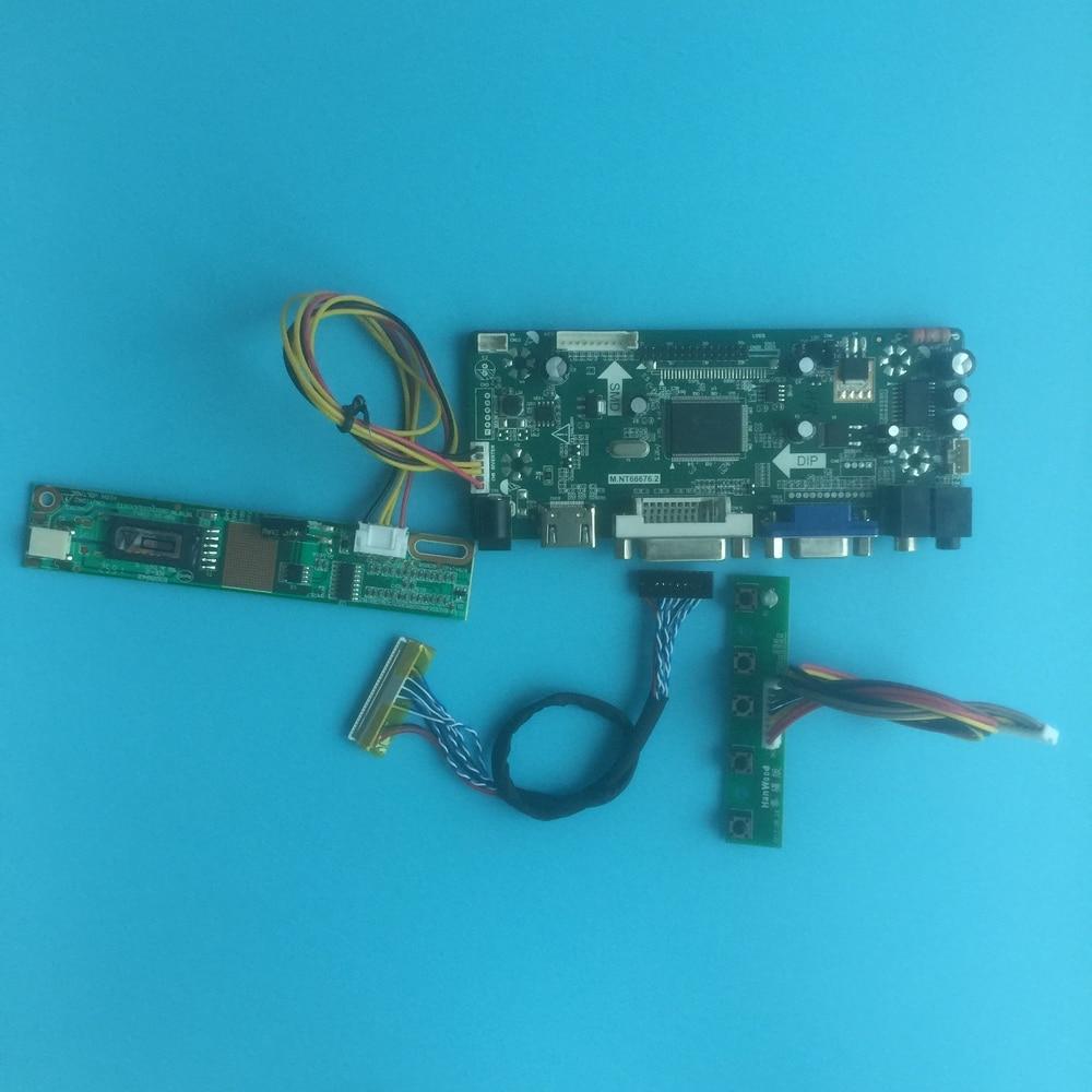 Kit For LTN154P3-L01 Driver Screen 1680X1050 Controller Board HDMI DVI Signal VGA 30pin Panel Monitor 15.4