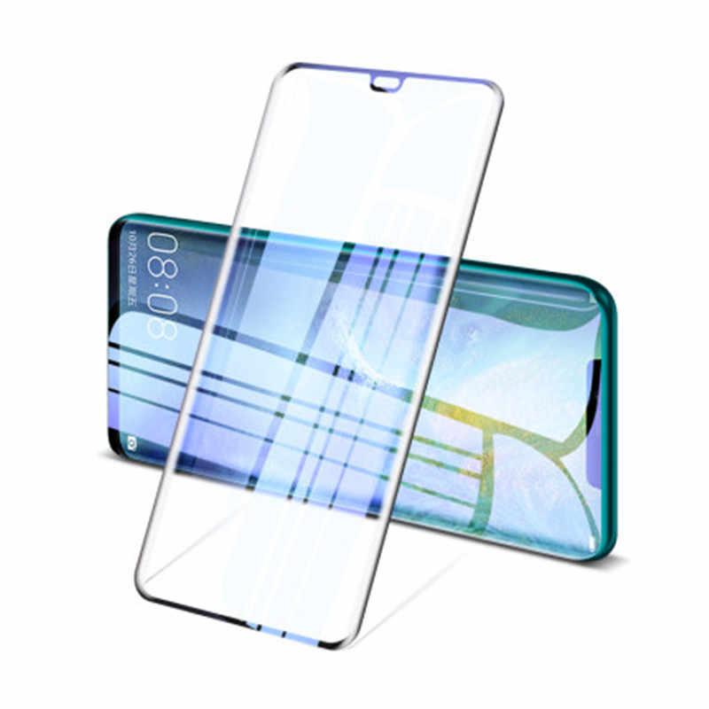 フルカバー強化ガラス huawei 社 P30 lite P20 pro のスクリーンプロテクター huawei 社メイト 20 lite pro の p スマート 2019 z Y6 2019 ガラス