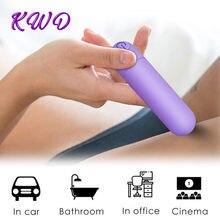 Poderoso mini bala vibrador para mulher g-spot clitóris estimulador vibrador vibrador adulto à prova dwaterproof água brinquedos sexuais usb carga massageador