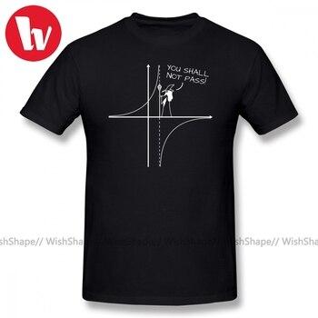 Math T Shirt You Shall Not Pass T-Shirt Men Cartoon Print Short Sleeve Cotton Tee Male Awesome Casual Shirts 3XL 4XL - discount item  42% OFF Tops & Tees