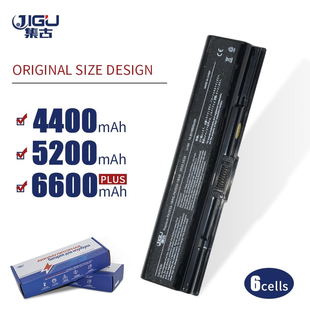 JIGU Pa3534u 1brs Battery For Toshiba PA3533U-1BAS PA3534U-1BAS PA3534U-1BRS Satellite A200 A205 A210 A215 L300 L450D A300 A500