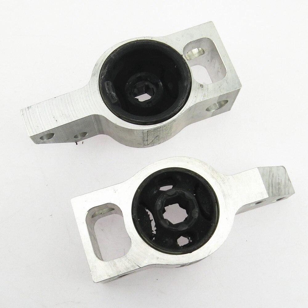 SCJYRXS 1 çift araba üçgen kol rulman için kauçuk burçlar Passat CC Tiguan Passat B6 Passat B7 3C0 199 231 bir 3C0199231B