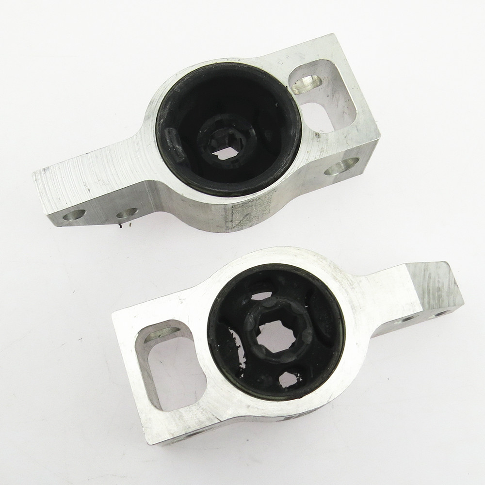 SCJYRXS 1 Pair Car Triangle Arm Bearing Rubber Bushings For Passat CC Tiguan Passat B6  Passat B7 3C0 199 231 A 3C0199231B