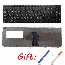 Ru Black Nieuwe Laptop Toetsenbord Voor Lenovo V570 V570C V575 Z570 Z575 B570 B570A B570E V580 V580C B570G B575 B575A b575E B590 B590A