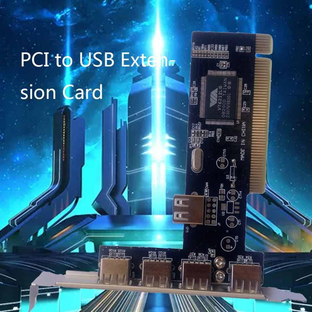 4 porty PCI-E na USB 2.0 HUB pci express adapter karty rozszerzeń konwerter USB2.0 nowy bezpłatny napęd 5