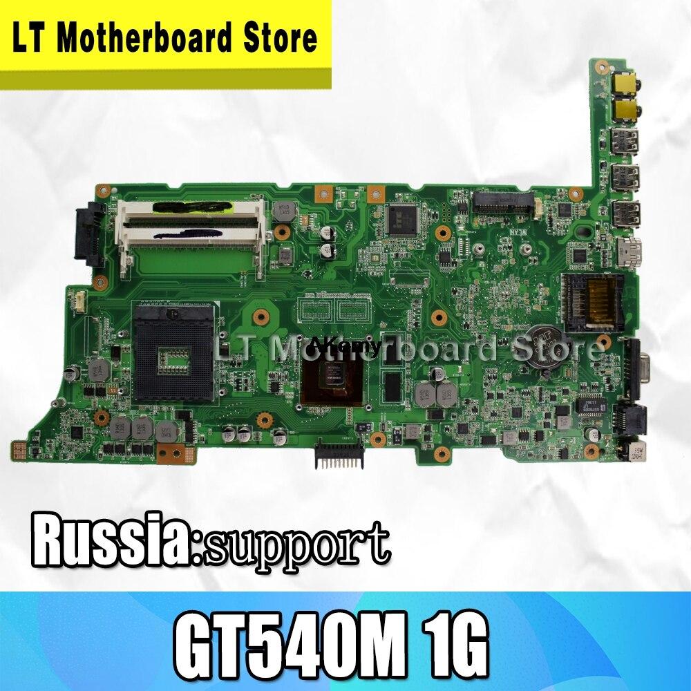K73SD K73SV Motherboard For ASUS K73S K73SV K73SD K73SM K73SJ Laptop Motherboard Mainboard  Test Work 100%  HM65 1GB Video Card