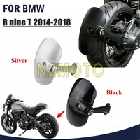 Black Motorcycle Rear Wheel Mudguard Tire Hugger Fender Cover For BMW R NineT R9T R NINE T 2014 2018 Motorbike Rear Fender