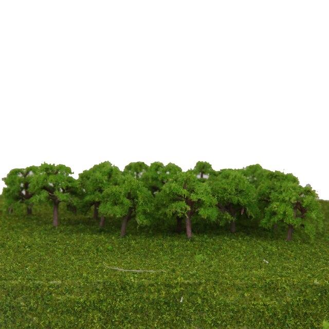 Arbre de Train modèle à échelle 25x Z, aménagement de la rue, jardin paysage Wargame Diorama