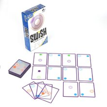 Game Swish-A Kids Toys Education Children Fun for Playing-Cards Spot-Board Logic Transparent