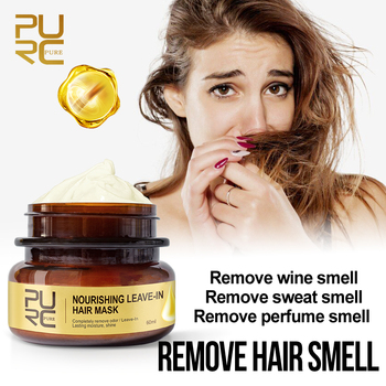 PURC New Arrivals Nourishing Leave-In Hair Mask Completely Remove Odor Lasting Moisture Shine Hair & Scalp Treatments Hair Care