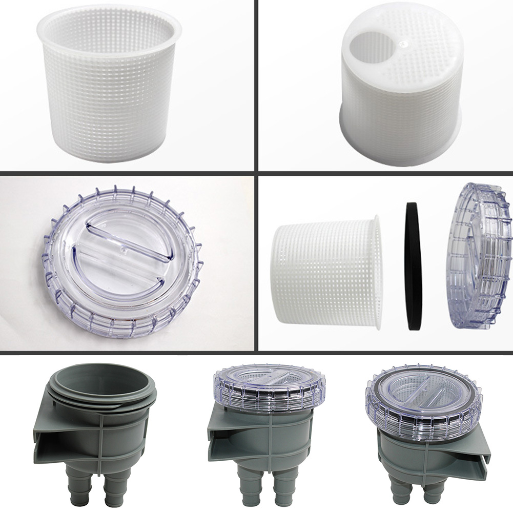 Piping System Cooling Durable Strainer Multi-interface Drain Pump Rafting Boat Intake Replacement Sea Water Filter Easy Install