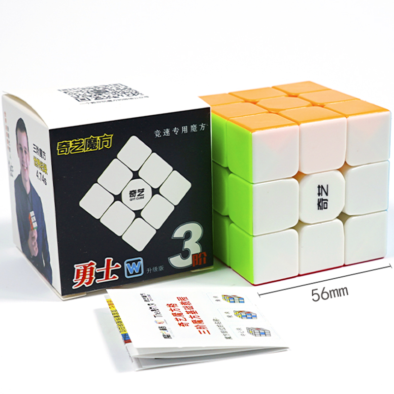 Original QiYi Warrior W 3x3 Profissional Magic Cube Competition Speed Puzzle Cubes Toys For Children Kids Cubo Magico