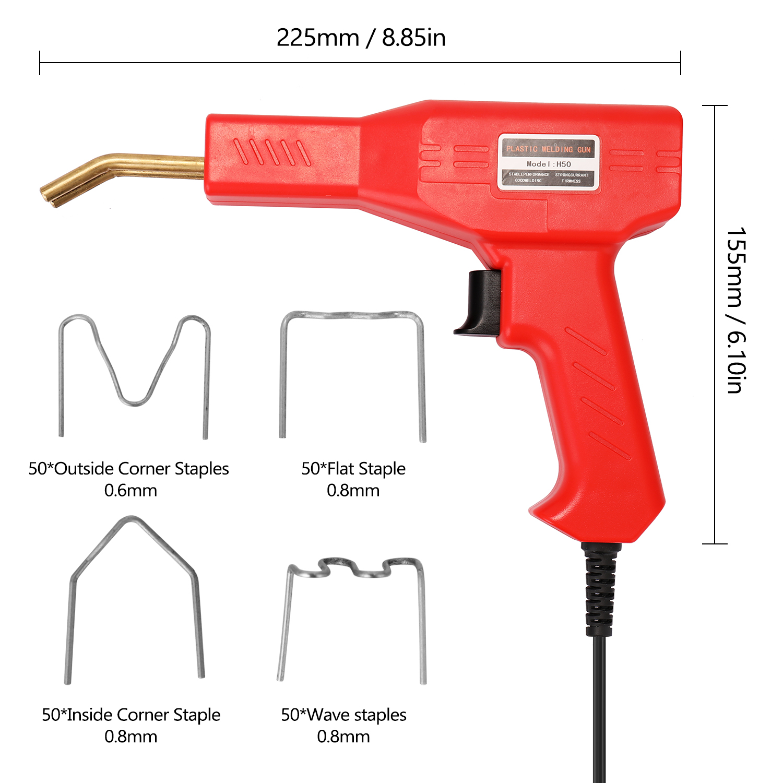 Staple Hot Handy Stapler Garage Tool Car PVC Repairing Staplers Bumper Welders Plastics Welding Machine Tools Machine Repairing