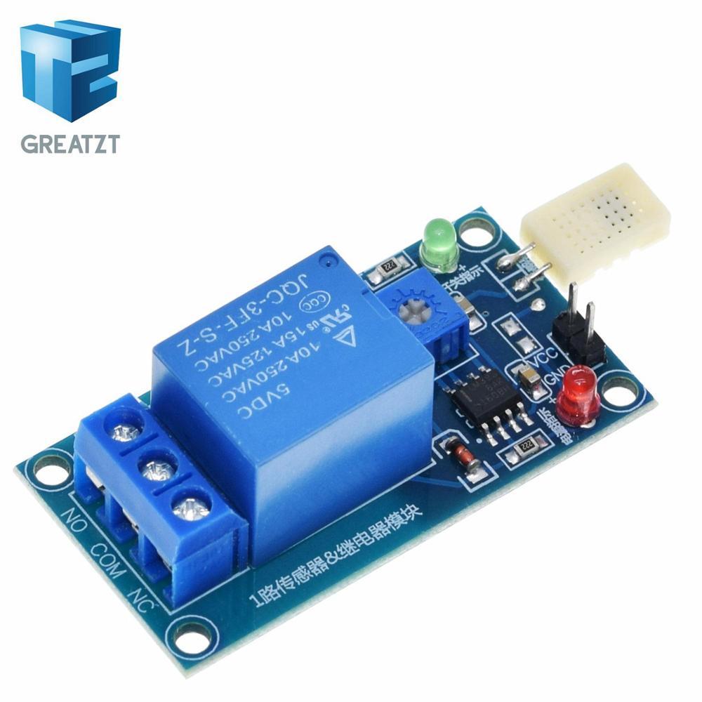 HR202 Sensitive Moisture Humidy Sensor 5V Humidity Module Board with Relay
