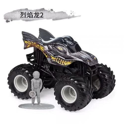 1: 64 оригинальные горячие колеса гигантские колеса Crazy Barbarism Монстр металлическая модель грузовика игрушки Hotwheels большая ножная машина детский подарок на день рождения - Цвет: e