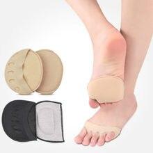 Cinco dedos do pé antepé almofadas para mulher saltos altos meia palmilhas calos calos calos pés cuidados com a dor absorve meias de choque toe almofada inserções