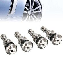 4pcs Metal Tyre Wheel Valve Cap 11.3mm Car Tire Caps Cover Rim Stem