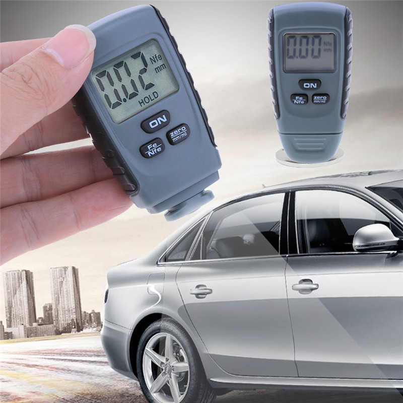 RM660/GM200 Coating Painting Thickness Gauges Tester Ultrasonic Film Mini Car Coating Measure Paint Gauge Measuring Instrument