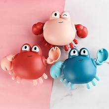 2021 Newest Cartoon Animal Crab Classic Baby Water Toys Infant Turtle Wound-up Chain Clockwork Baby Swimming Bath Toy