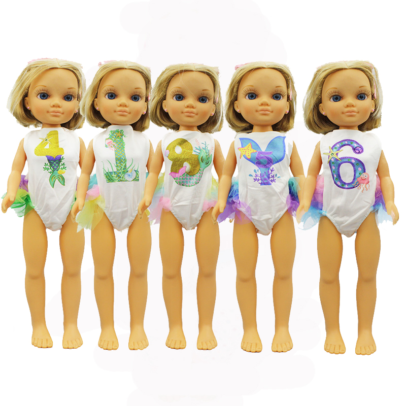 New Style Swim Suit Clothes For FAMOSA Nancy Doll Clothes Doll Accessories
