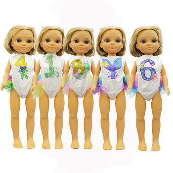 New Style Swim Suit Clothes For FAMOSA Nancy Doll Clothes Doll Accessories image