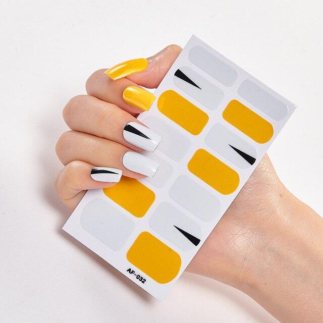 Купить наклейки для дизайна ногтей 2020 искусственных временные татуировки картинки цена