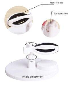 Регулируемый держатель бутылки для лака для ногтей, акриловый зажим для ногтей, подставка для дисплея, инструмент для поддержки маникюра