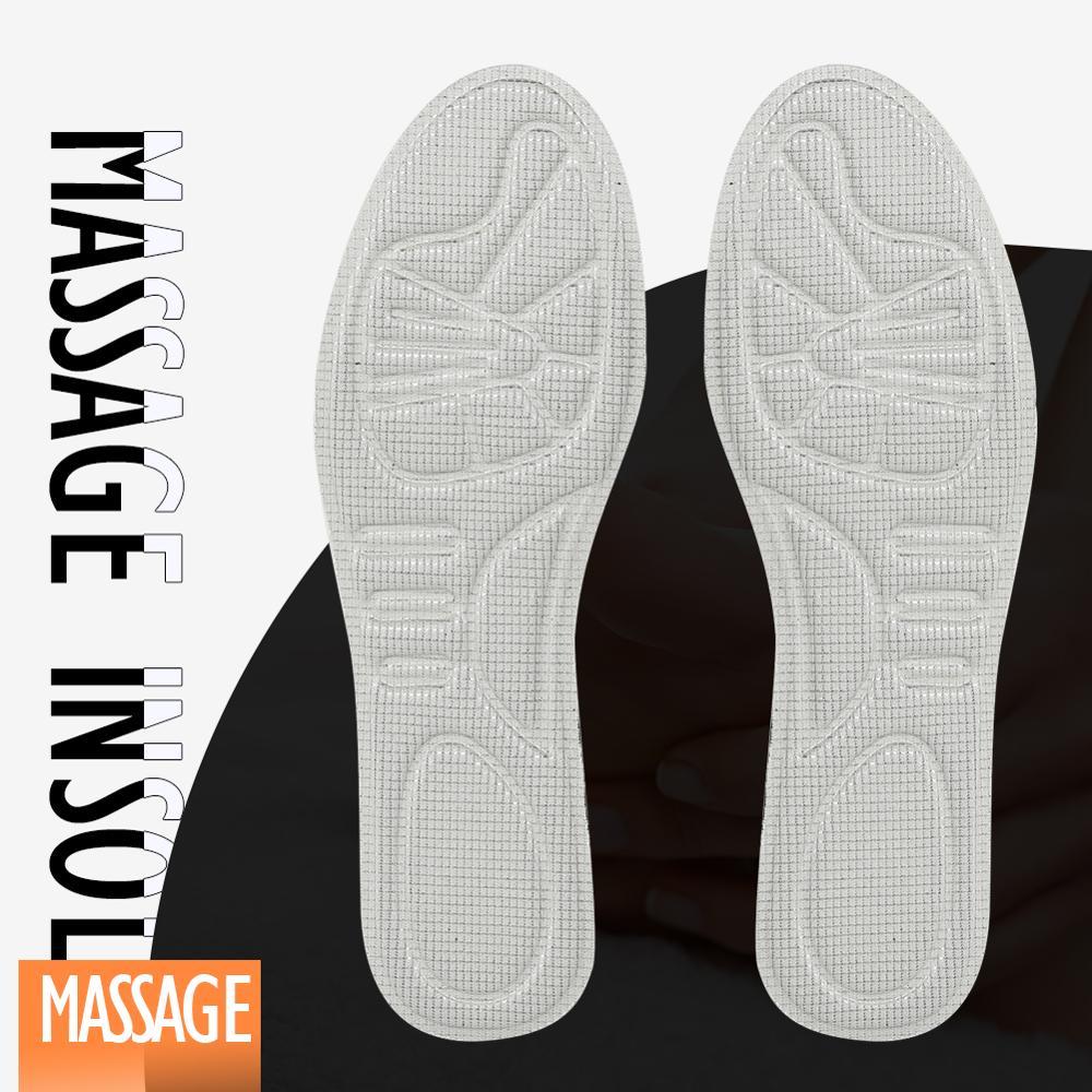 3 plantillas de masaje de pie ANGNI para talón antepié soporte de arco suela de zapato espuma de memoria malla transpirable. Almohadillas de manga metatarsiana KOTLIKOFF, almohadillas de Gel para el antepié, almohadilla de medio calcetín, soportes para prevenir ampollas de callos