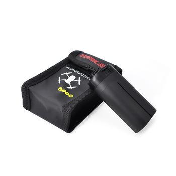 STARTRC DJI Mavic Mini Drone bateria lipo Case przeciwwybuchowe bezpieczne przechowywanie torba ognioodporna obudowa ochronna dla DJI Mavic Mini tanie i dobre opinie 8MP 2 3 cali 2 7 k AJJDJIMINIBB1 11x3 5x6 6cm