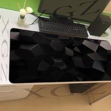 Xgz cool Черный Маленький квадратный большой коврик для мыши