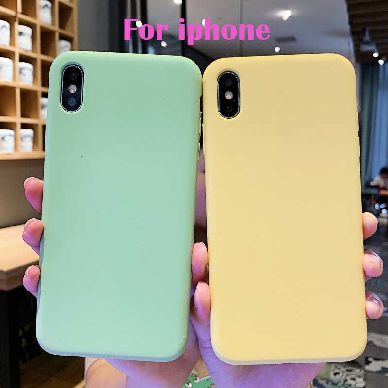 Luxury Liquid Silicone Case For iPhone 7 8 Plus X 6s 6 6Plus Soft Back Cover for iphone Xs Max XR 7Plus 8Plus Phone Case capa
