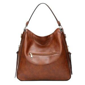 Image 2 - Hobos ยุโรป Crossbody กระเป๋าสุภาพสตรี Vintage ที่มีชื่อเสียงยี่ห้อ Luxury กระเป๋าถือผู้หญิงกระเป๋าออกแบบกระเป๋าหนังนุ่มผู้หญิง 2019 sac