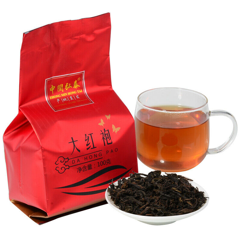 2019 Year ZHONG MIN HONG TAI CHINA Oolong Tea Da Hong Pao Wuyi Yancha Big Red Robe 100g