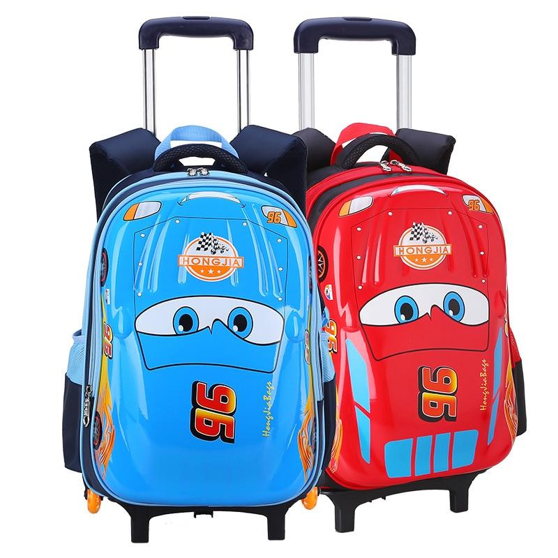 Mochila para niños, mochila escolar para niños, mochila impermeable de alta calidad para la escuela, ropa de mochila resistente a la carga, bolso con ruedas para niños