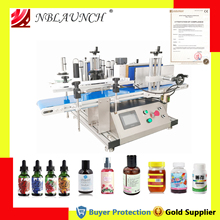 Labelling-Machine Wine-Bottle Table Plastic Fully-Automatic Glass Can by Send Deskatop-Type