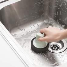 Интенсивное очищение губка-щетка для Ванной Щетка для плитки Лидер продаж магический интенсивное очищение щетка для мытья инструменты для уборки на кухне