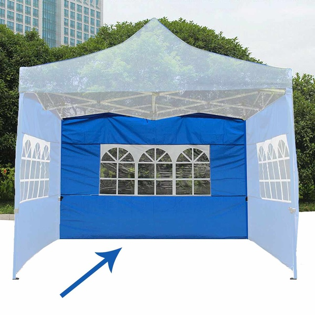 1PC 3x3m Tent Side Panel Enclosure Waterproof Gazebo Sunshade with Window Oxford Cloth Material Outdoor Tent