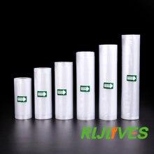 Sacs de conservation des aliments sous vide, rouleaux de 12/15/17/20/25cm x 500cm, pour l'emballage sous-vide de la cuisine, 1 rouleau